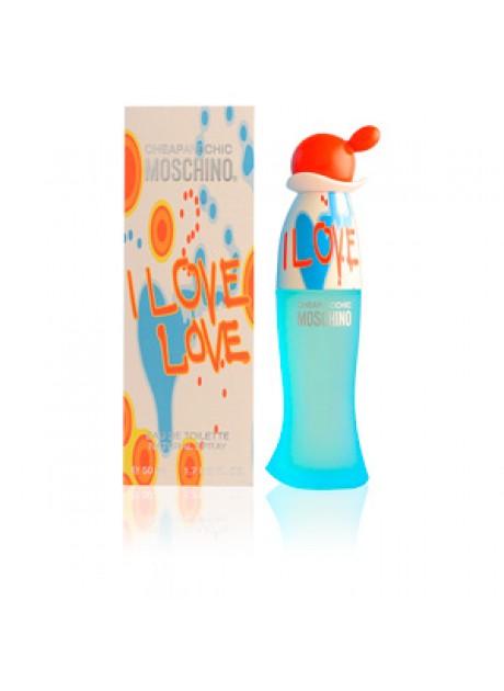Moschino I LOVE LOVE Woman edt 100 ml