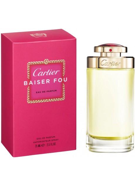 Cartier BAISER FOU Woman edp 75ml