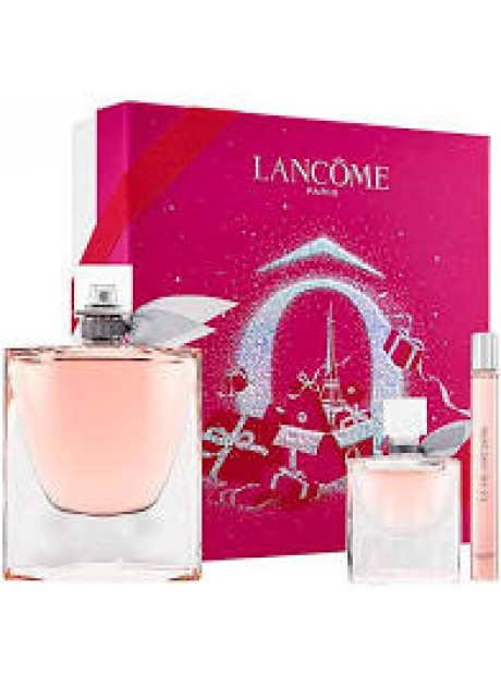Cofre Lancôme LA VIE EST BELLE Woman edp 100ml+Mini edt 10ml+Mini edp 4ml