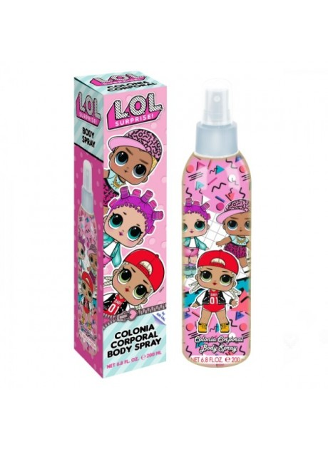 LOL Surprise edc Body Spray 200ml