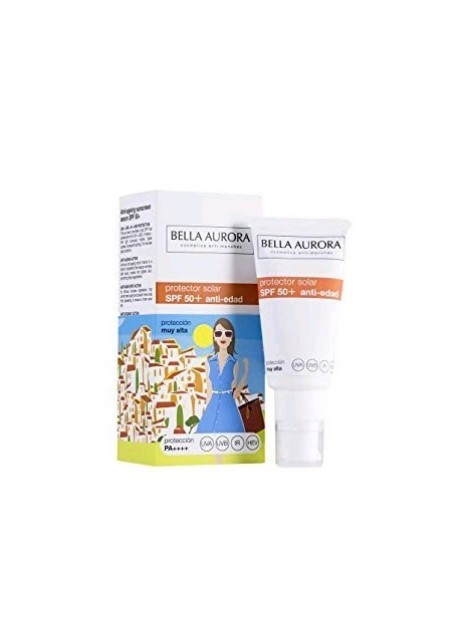 Bella Aurora SERUM SOLAR ANTI-EDAD SPF50+ 50ml