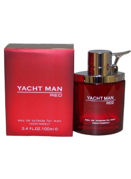 YACHT MAN RED edt 100ml