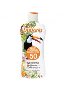 Babaria LECHE SOLAR Tropical spf50 200ml
