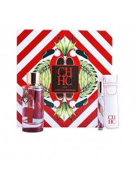 Cofre Carolina Herrera CH L'EAU Woman edt 100 ml+Mini edt 10ml+Funda de Viaje