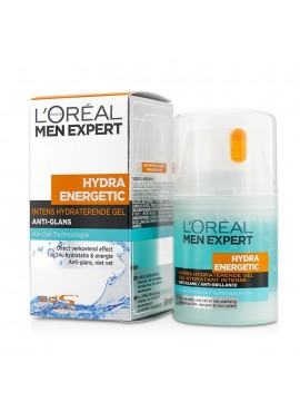 L'Oreal Men Expert HYDRA ENERGETIC Gel Anti-Brillos 50ml
