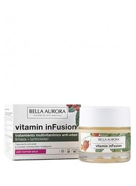 BELLA AURORA VITAMIN INFUSION Tratamiento Multivitamínico Anti-Edad Piel Mixta-Grasa 50ml