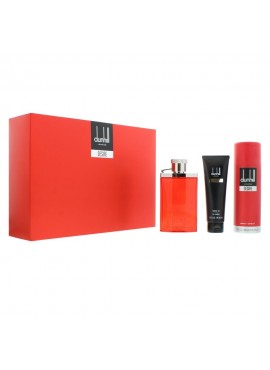 Cofre Dunhill DESIRE RED Men edt 100ml+Spray Corporal 195ml+Gel Ducha 90ml
