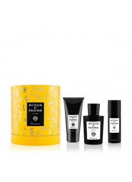 Cofre ACQUA DI PARMA ESSENZA edc 100ml+Gel Ducha 75ml+Desodorante Spray 50ml