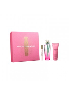 Cofre Adolfo Dominguez AGUA DE FRESCA DE GARDENIA MUSK Woman edt 120ml+Mini 10ml+Body Lotion 75ml