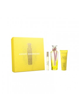 Cofre Adolfo Dominguez AGUA DE FRESCA DE MIMOSA CORIANDRO Woman edt 120ml+Mini 10ml+Body Lotion 75ml