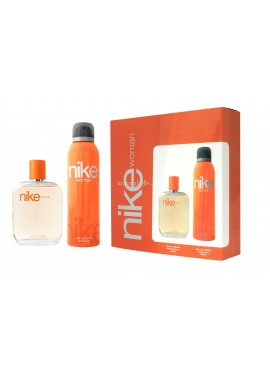 Cofre NIKE WOMAN edt 100ml+Desodorante Spray 200ml