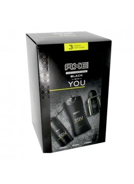 Cofre Axe YOU Men Bodyspray 150ml+Gel Ducha 250ml+After Shave 100ml