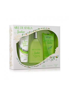 Cofre Aire de Sevilla AZAHAR Woman edt 150ml+Loción Corporal 150ml+Gel de Ducha 150ml