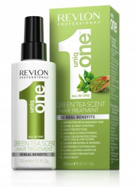 Revlon Uniq One 10 En1 Professional Hair Treatment Green Tea Scent 150ml
