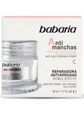 Babaria Antimanchas Crema Intensiva 50ml