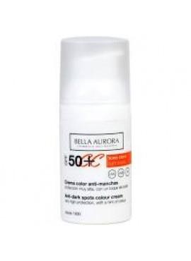 Bella Aurora CC Cream SPF50+ Crema con color Tono Claro 50ml