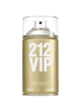 Carolina Herrera 212 VIP Body Fragance 250ml