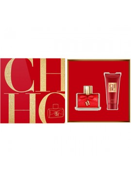 Cofre Carolina Herrera CH Privée Woman edp 80ml+Crema Corporal Exfoliante 100ml