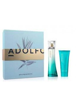 Cofre Adolfo Dominguez AGUA DE BAMBÚ Woman edt 100 ml+Body 75ml