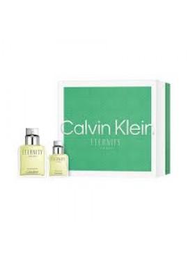 Cofre Calvin Clein ETERNITY Men edt 100 ml+Mini 30ml