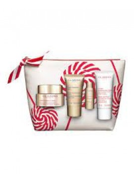 Cofre Clarins NUTRI-LUMIERE día TP 50ml+Crema Noche 15ml+Crema manos 30ml+Lotion 10ml