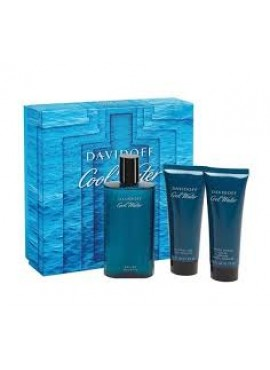 Cofre Davidoff COOL WATER Men edt 125 ml+Gel 75ml+After 75ml