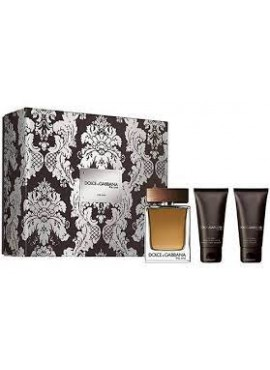 Cofre Dolce & Gabbana THE ONE Men edt 100 ml+After Shave 50ml+Gel 50ml
