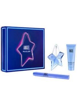 Cofre Thierry Mugler ANGEL Woman edp 25ml+Body Lotion 50ml+Pincel Perfumador 7ml