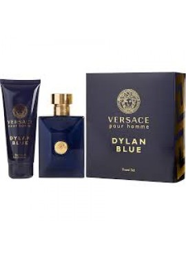 Cofre Versace POUR HOMME DYLAN BLUE edt 100 ml+Gel 100ml
