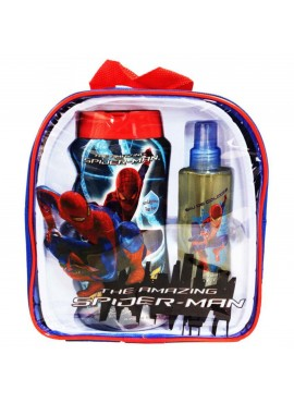 Mochila SPIDER-MAN edt 125ml+Gel-Champú 475ml