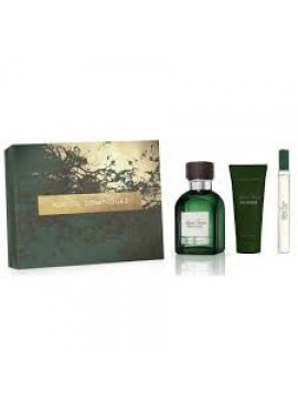 Cofre Adolfo Dominguez AGUA FRESCA DE VETIVER Men edt 120 ml+After Shave 75ml+Mini edt 20ml