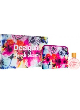 Cofre Desigual FRESH BLOOM Woman edt 100ml + Neceser