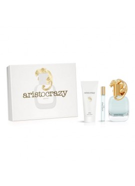 Cofre Aristocrazy BRAVE Woman edt 80ml+Mini edt 10ml+Body Lotion 75ml