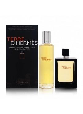 Hermès TERRE D'HERMÈS Men edp 30ml + Recharge 125ml
