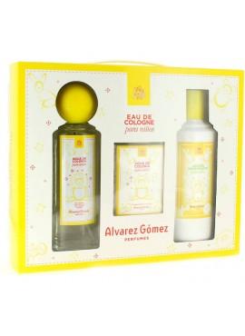 Cofre Alvarez Gómez NIÑOS edt 175ml+Loción Hidratante 300ml+Toallitas Perfumadas