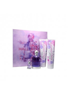 Cofre Jesus del Pozo HALLOWEEN Woman edt 100 ml+Body Lotion 150ml+Gel Ducha 150ml+Miniatura 4,5ml