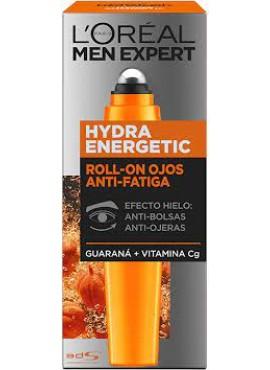 L'Oreal Men Expert HYDRA ENERGETIC Roll-On Anti Fatiga 10ml