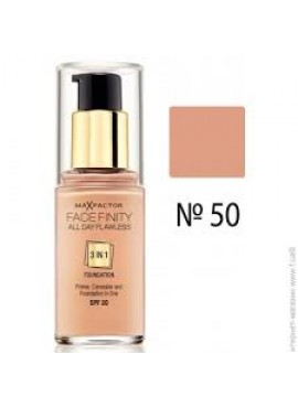 MAX FACTOR FACE FINITY ALL DAY FLAWLESS Nº50 Natural 30ml