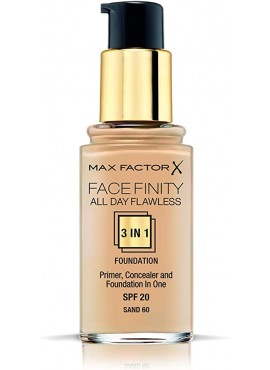 MAX FACTOR FACE FINITY ALL DAY FLAWLESS Nº60 Sand 30ml