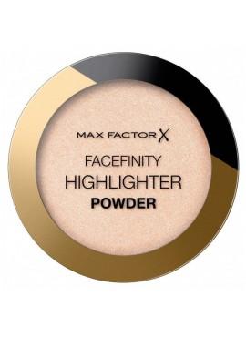 MAX FACTOR FACETFINITY HIGHLIGHTER POWDER Polvos iluminadores 001 nude beam