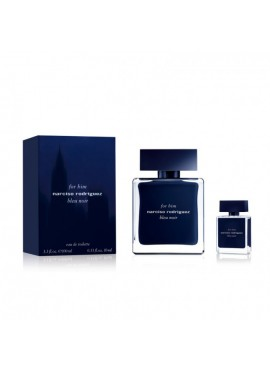 Cofre Narciso Rodriguez BLEU NOIR Him edt 100 ml+Mini edt 10ml