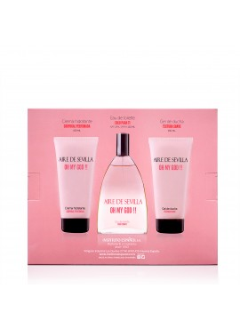 Cofre Aire de Sevilla OH MY GOD!! Woman edt 150ml+Loción Corporal 150ml+Gel de Ducha 150ml