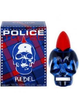 Police TO BE REBEL Men edt 125ml