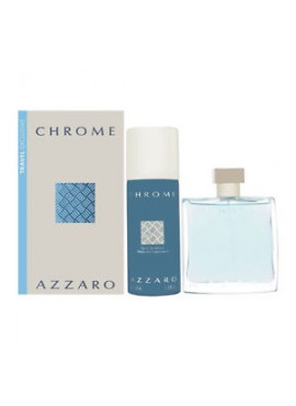 Cofre Azzaro CHROME Homme edt 100 ml+Desodorante Spray 150ml