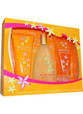 Cofre Aire de Sevilla PRIMAVERA Woman edt 150ml+Loción Corporal 150ml+Gel de Ducha 150ml