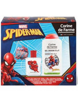 Cofre SPIDER-MAN edt 50ml+Gel 250ml+Llavero